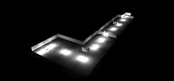 Estudio de iluminación de emergencia