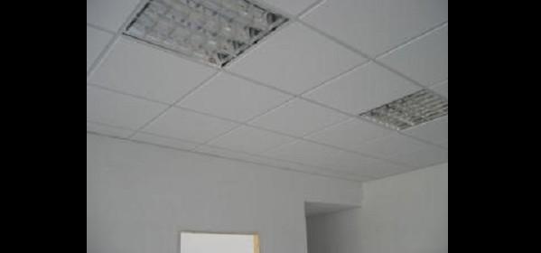 Plafones fluorescentes y LED