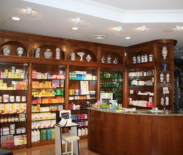 Reducción de consumo en Farmacia (2011-2012)
