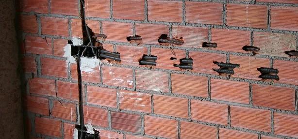 Rozas en pared