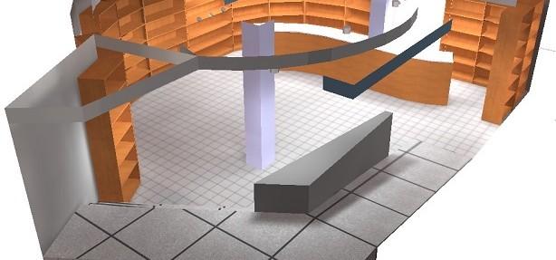 Representación 3D Dialux